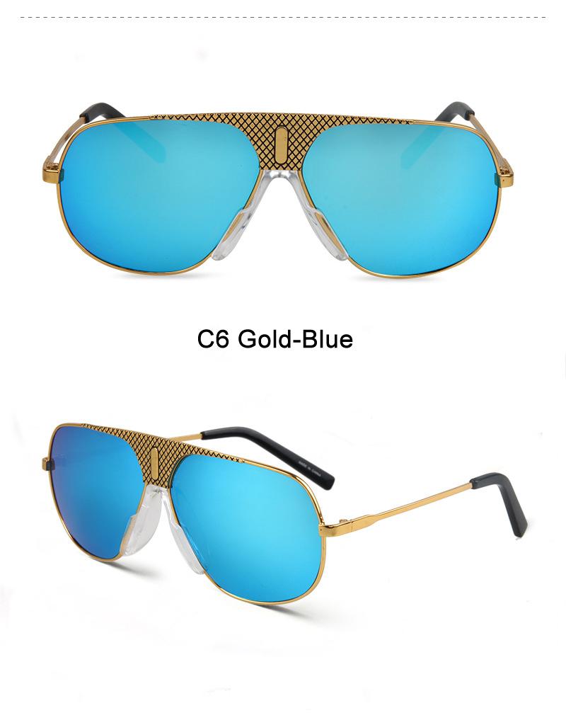 OSG Brand Designer Sunglasses Men Women Retro Vintage Sun glasses Metal frame Fashion Glasses Top Quality Eyeglasses UV400