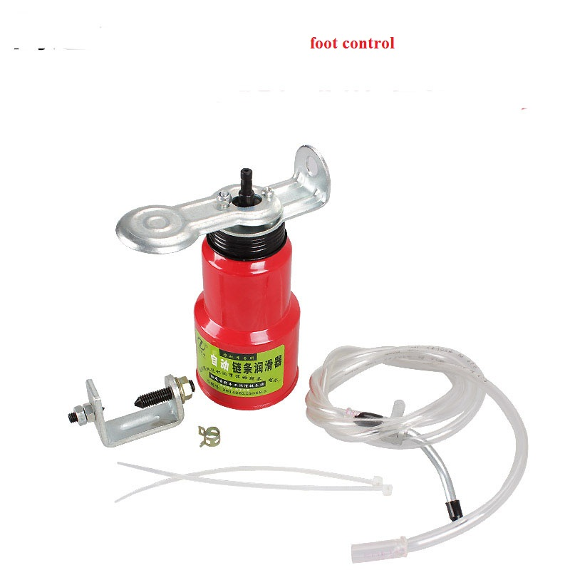 Foot Control Lube Lubrication Automatic Motorcycle Chain Oiler(China (Mainland))