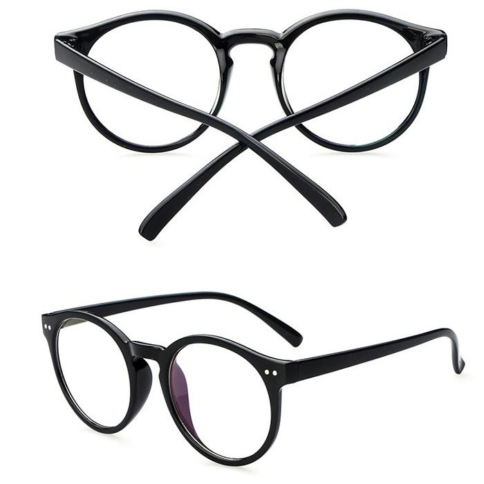 2016 New fashion computer glasses men round vintage eyeglasses brand women eyewear frames armacao de oculos
