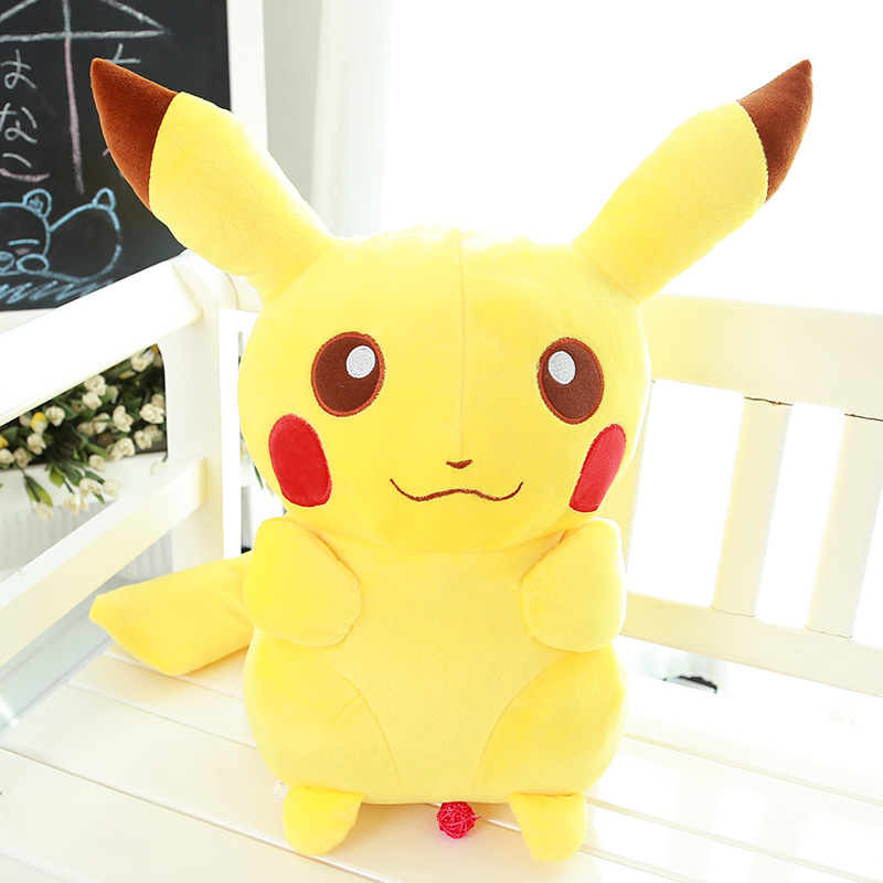 New Year Discount 45cm Height Pokemon Pikachu dolls Stuffed toys Gifts for Baby or Friends(China (Mainland))