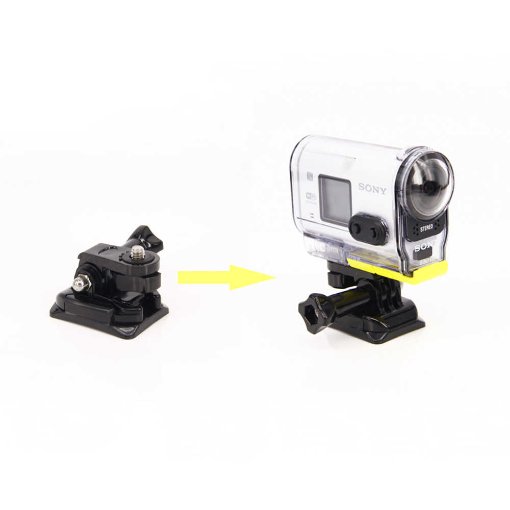 Adhesive Mount for Sony Mini Action Cam HDR AS20V AS30V AS100V 4K X1000V Flat Curved Helmet