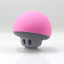 Wireless Portable Mini Bluetooth Speaker fashion design Waterproof Mushroom Handsfree With Retail Box for cell phone PC Hot Sale