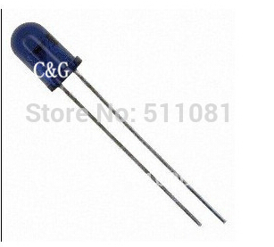 200PCS TSAL6200 EMITTER IR 5MM HI EFF 940NM Brand New and RoHS(China (Mainland))