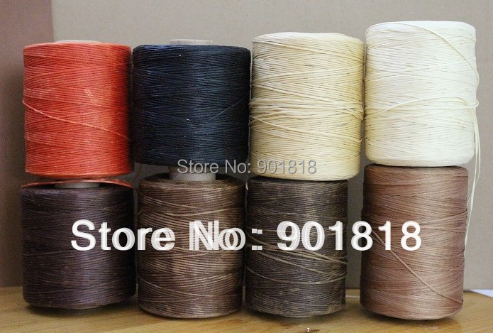 50meters/pack1.5mm width leather thread for DIY leather products nylon sewing thread F599(China (Mainland))