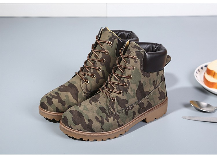 Brand Women Martin Boots Snow Winter Shoes Timber Boots,Botas Mujer High-top Ankle Boots For Women Scarpe Donna