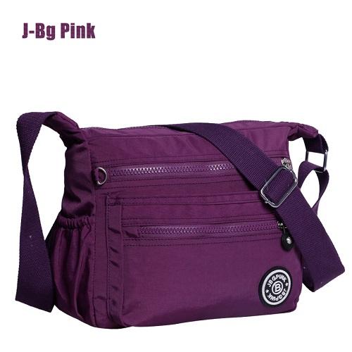 Women Nylon Handbags Brand Monkey Kipled J-Bg Pink Original Bag Woman Nylon Shoulder Crossbody Bag Waterproof(China (Mainland))