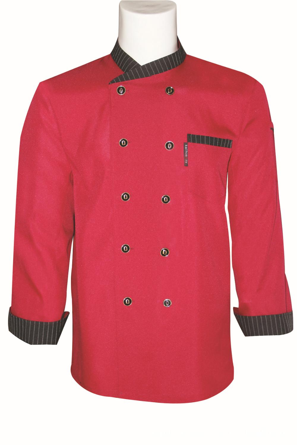 Fall/winter hotel chefs clothing long sleeve new chef clothing Workwear(China (Mainland))