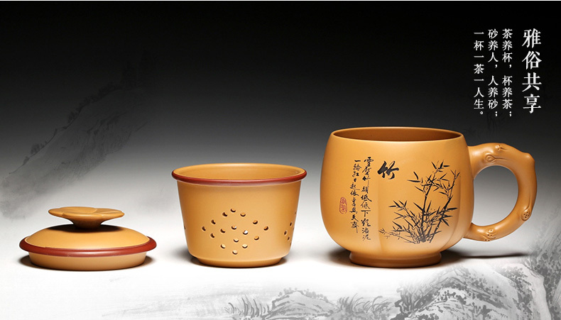 Three pieces tea cup A plurality of pattern design fine workmanship very beautiful you see free