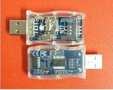 Transparent bi-frequency card reader card reader , sim card