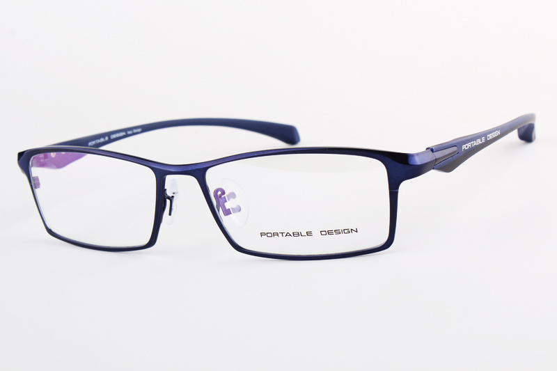 brand design titanium alloy eyeglass myopia glasses