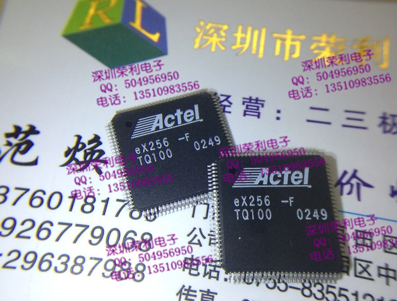 Free shipping 20pcs/lot EX256-FTQ100 EX256-F ACTEL programmable gate array chip new original(China (Mainland))