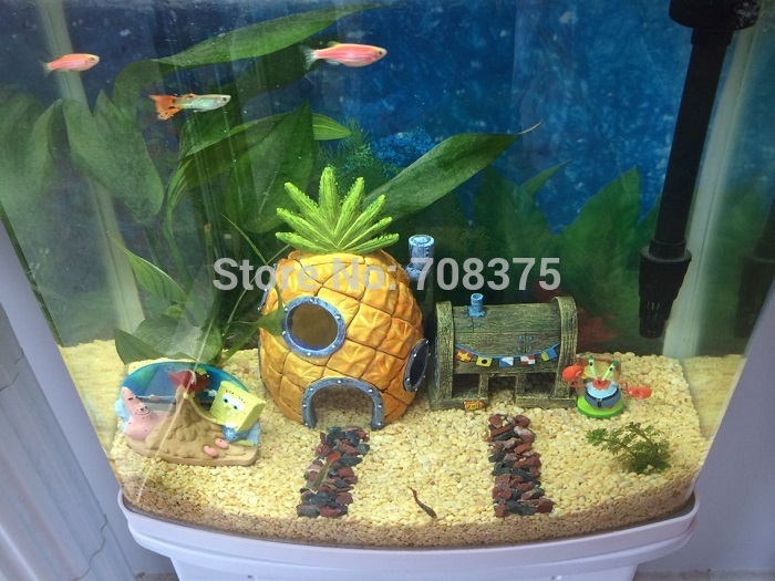 Tank decor picture more detailed picture about new 3pc for Aquarium decoration set