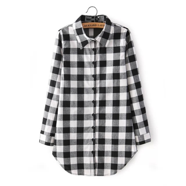 Black And White Checkered Shirt Womens | Is Shirt