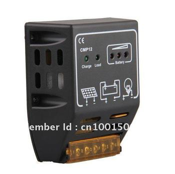 CMP Solar Panel Charge Controller Regulator 10A 12V 24V