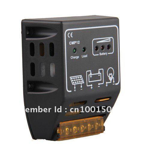 CMP Solar Panel Charge Controller Regulator 10A 12V 24V