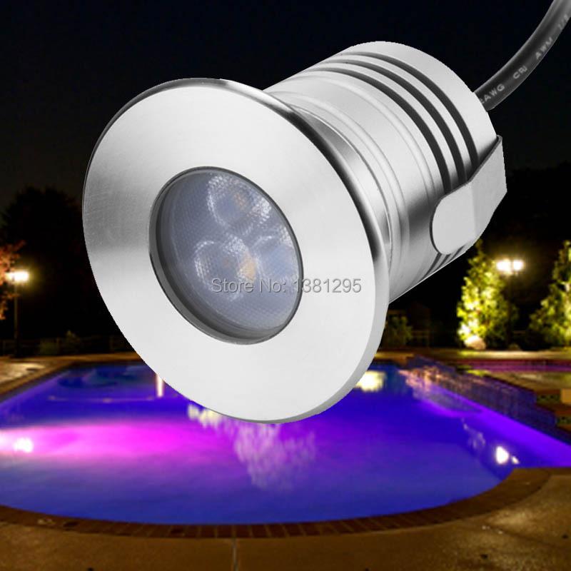 Buy Low Voltage Outdoor Led Landscape Lighting 12v 3w Ip68 Waterproof Led