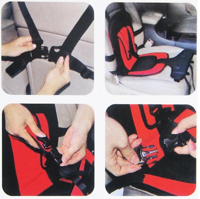 2 цвета портативный детские дети малолетними детьми безопасность автомобиля обложка подушка многофункциональный стул кенгуру