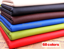 Good quality litchi grain PU leather Faux leather fabric for sewing Synthetic leather Artificial leather for diy(ss-4005(China (Mainland))