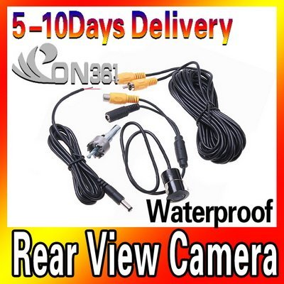 Brand New Waterproof Car Rear View Reverse Backup Snap-in CMOS Vehicle Camera K424 with high quality