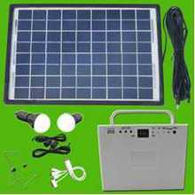 Small household solar power generation system, lighting, cell phone charger, outdoor small portable power generation systems(China (Mainland))