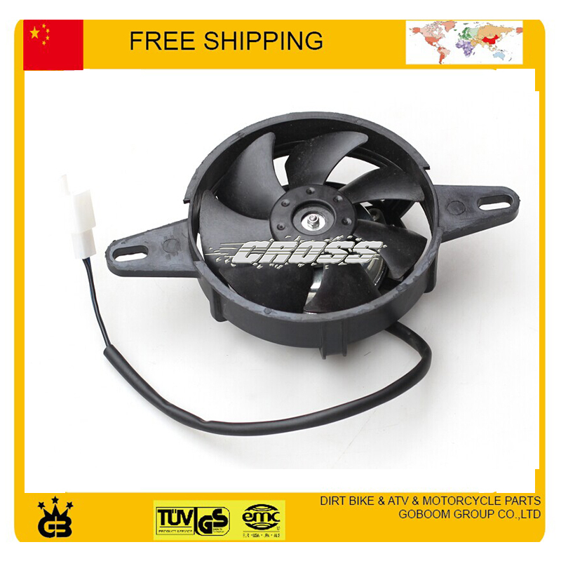 zongshen foton 150cc 175cc 200cc motorcycle water cooled engine fan accessories free shipping(China (Mainland))