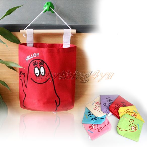 ONLY Colors Cute Hang Up Storage Bag Wall Decorative Stuff Storage Organizer(China (Mainland))