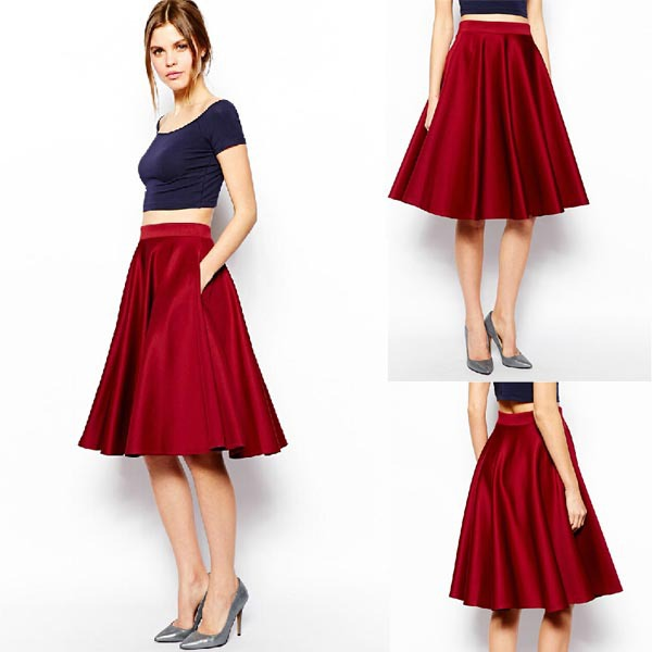 midi skirts cheap redskirtz