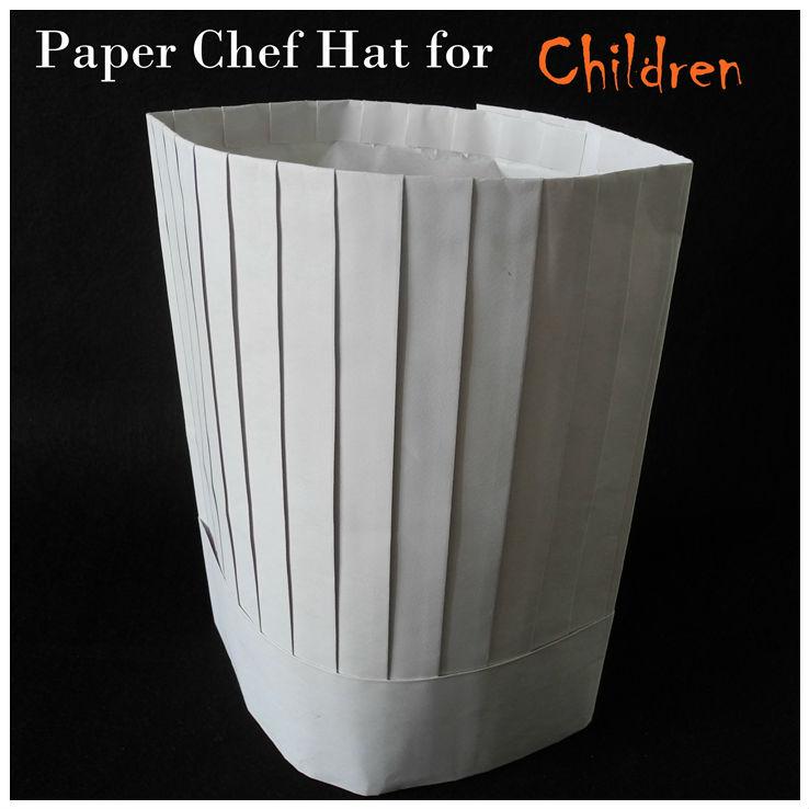 Paper Chef Hat Pattern