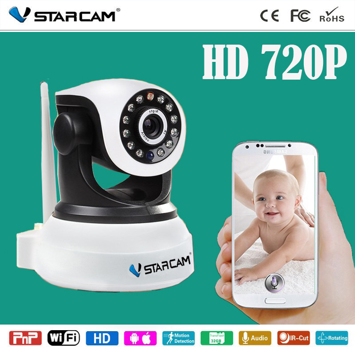 New HD 720P Video Baby Monitor wireless WiFi IR Video Talk intercom one Camera With Night Vision audio(China (Mainland))