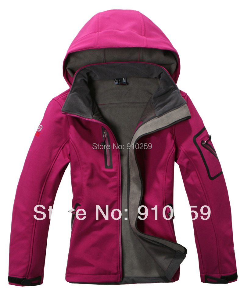 new 2015 women's Polar softshell Outdoor hiking Sportwear Jackets Waterproof hunting clothes camping climbing coats for girls(China (Mainland))