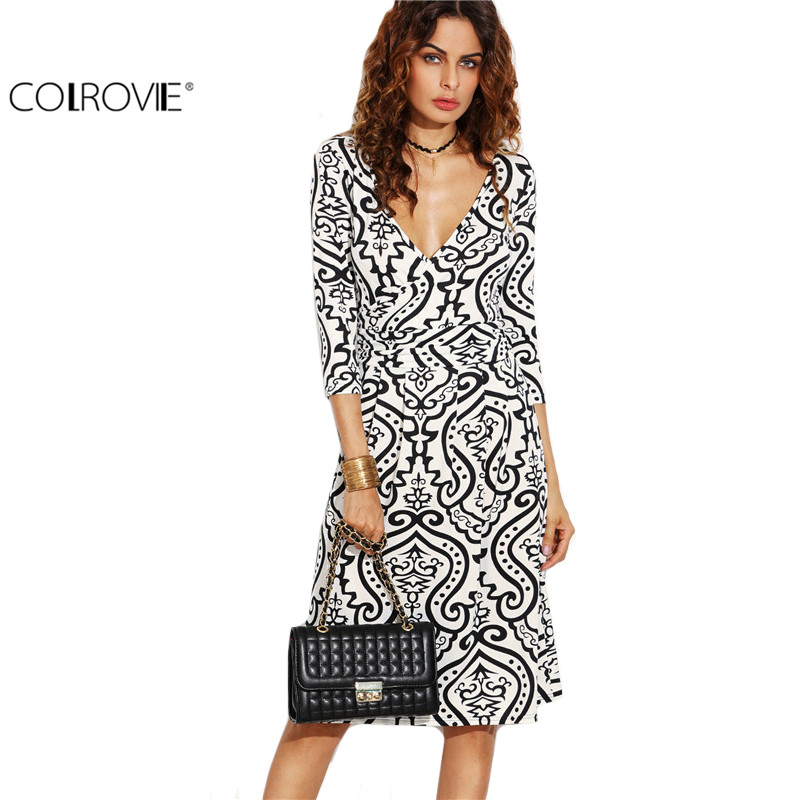Designer Wrap Dress Promotion-Shop for Promotional Designer Wrap ...