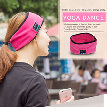 Unisex Smart Wireless Bluetooth Cap Warmer Men and Girls Headband Sport Running Headphones Cap 4 Colors Yoga Headbands