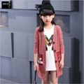 2016 New Selling Autumn Girls Fashion Knitted Cardigan Sweater Coat Children s Clothing Kids Fashion Casual