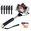 Universal Wired Selfie Stick Extendable Handheld Monopod for iPhone 5S 6 Samsung Huawei P8 lite Xiaomi