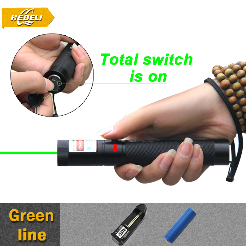 powerful lanterna lazer pointer green high powered burning laser pointer wireless presenter pointer pen 303 astronomia(China (Mainland))