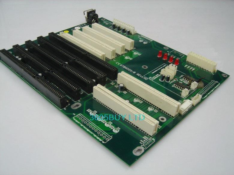 Texinai dispatch control plate passive backplane GTB6022/8 RE:A0 5 ISA 4 PCI EVOC(China (Mainland))