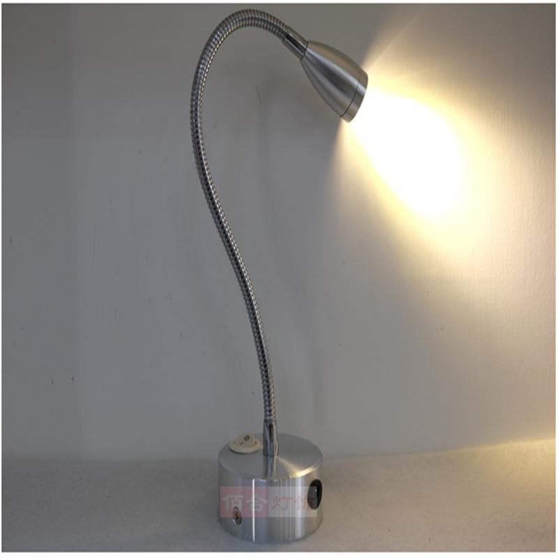 3 years warranty 1W/3W recharging led spot lamp ,rechargable battery wireless display lamp,switch model 360 30CM  flexible tube