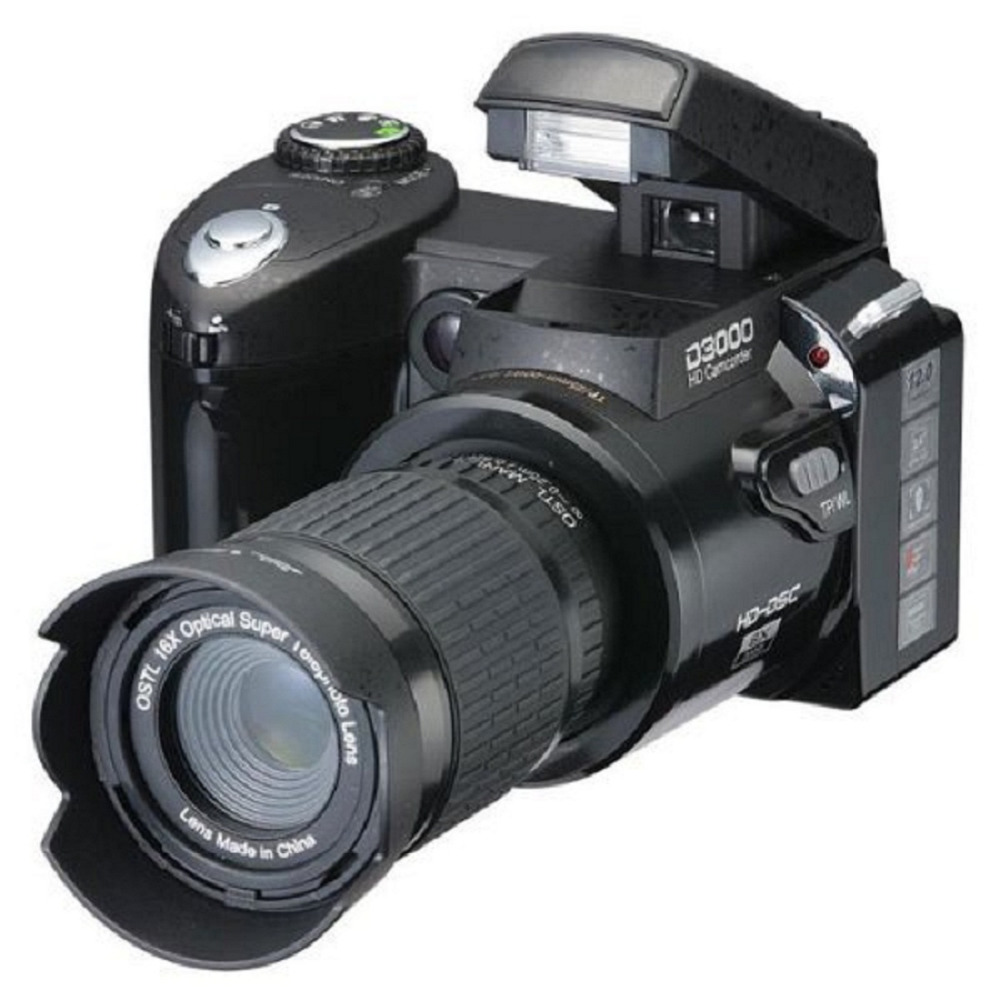 DHL Free Digital Camera D3000 16 times optical zoom ...