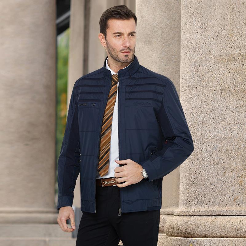 Hot sale 2015 Autumn Fashion Good Quality Men Jackets Zipper 100 Polyester Wear resisting M L