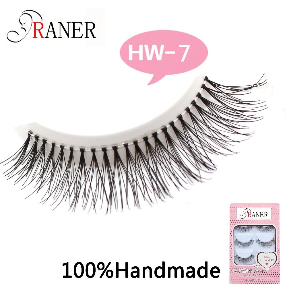 Thick False Eyelashes Eye Lashes Makeup HW-7 - Gobles Products store