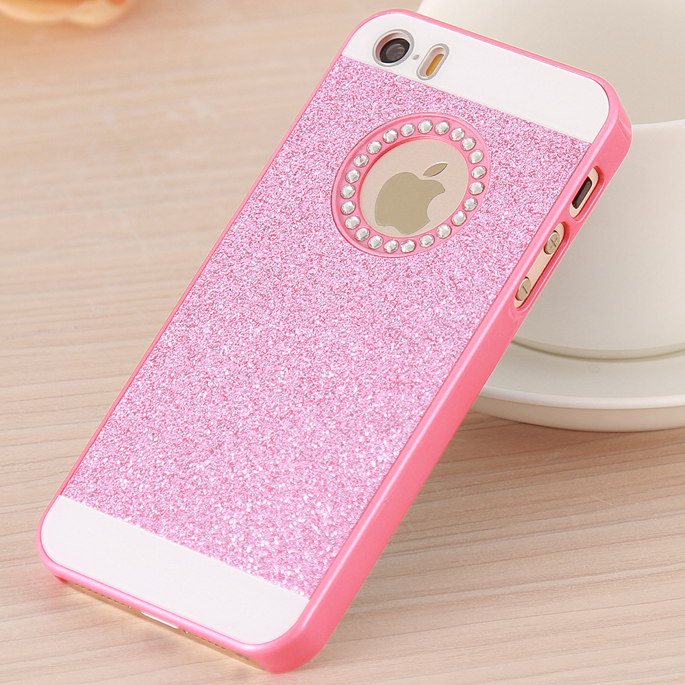 ... Case For iPhone 5 5S For iPhone SE Crystal Diamond Fashion Phone Cover