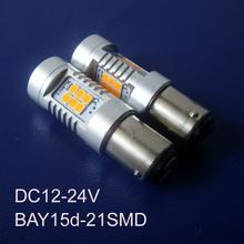 High quality DC12V-24V BAY15d,1157,P21W/5W,PY21W/5W Freight Car,Truck,Auto Led Stoplight,Led Brake light free shipping 2pcs/lot(China (Mainland))