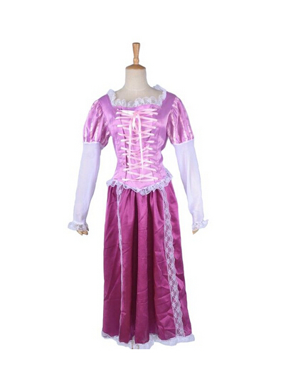Customize Tangled Costume Dress Rapunzel Cosplay Costume For WomenОдежда и ак�е��уары<br><br><br>Aliexpress