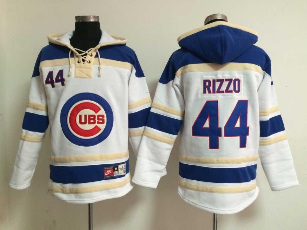 Top hot Series Chicago Cubs #44 Anthony Rizzo Hoodie Baseball Jerseys,Ice Hockey Hoodie Sweateshirt, Free Shipping