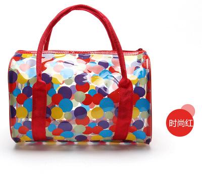 2016 Summer Beach Bag Women's Jelly Handbags Crystal Messenger Bags Candy Color Totes Bag Transparent Bags(China (Mainland))