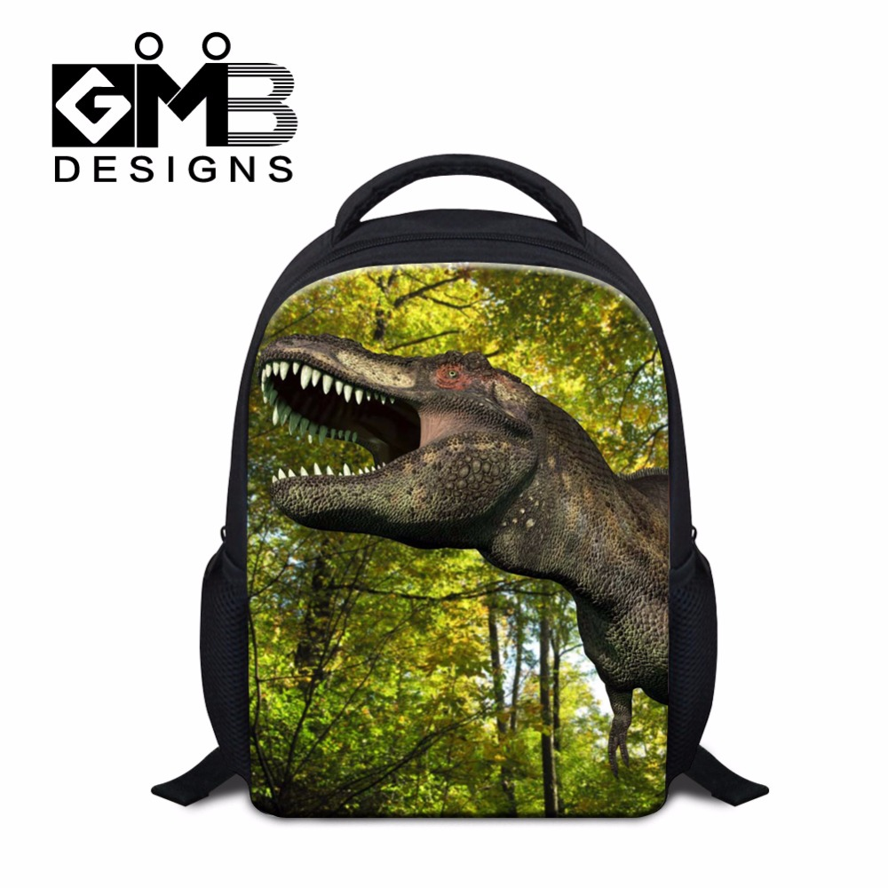 Cool Boys Backpacks for Kindergarten Kids School bags Dinosaurs 3D Printed Schoolbags Cute Animal Bookbag Outdoor Day Pack girls(China (Mainland))