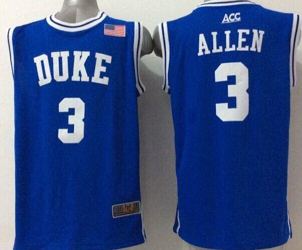 2015 New Top Quality #3 Grayson Allen Jersey Custom NCAA Duke Blue Devils High School College Mens Allen Basketball Jerseys(China (Mainland))