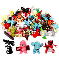 Wow 5pcs lot Random Delivery 4 6cm Pokemon Action Figure Toys Children Collection Minifigures Birthday Gifts