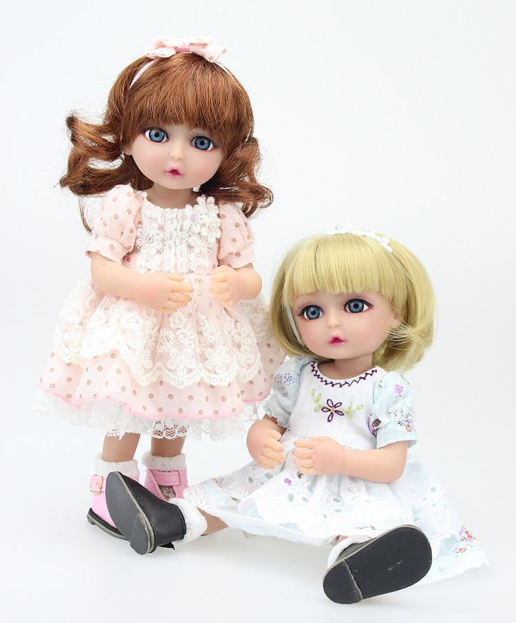 10  ( 25CM ) BJD Soft Silicone Vinyl Lifelike Reborn Baby Dolls  Bath toy princess dolls Twins Sister Simulation Doll Girl Gift<br><br>Aliexpress