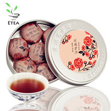 puer Big Promotion Mini Box of Rose Pu'er Compressed tea Traditional Chinese Authentic Healthy pu'er tea ETY005